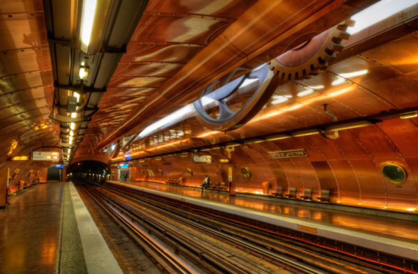 These 10 Metro Station Designs Will Take You To Another Universe - Arts Et Métiers Station, Paris, France