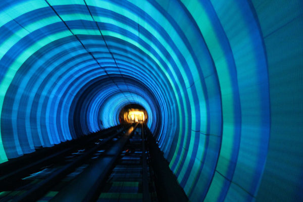 These 10 Metro Station Designs Will Take You To Another Universe - Bund Sightseeing Tunnel – Shanghai, China