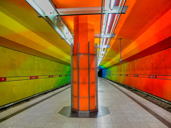 These 10 Metro Station Designs Will Take You To Another Universe - Candidplatz Station, Munich, Germany