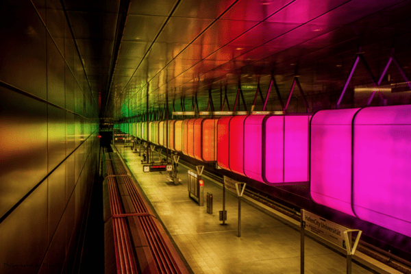 HafenCity Universität Station, Hamburg, Germany