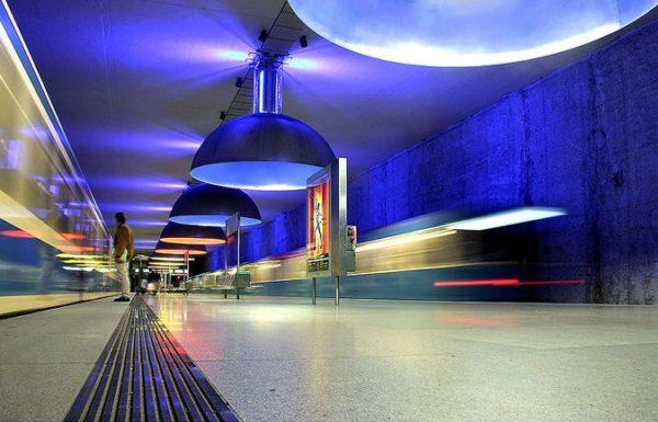 Westfriedhof Station, Munich, Germany