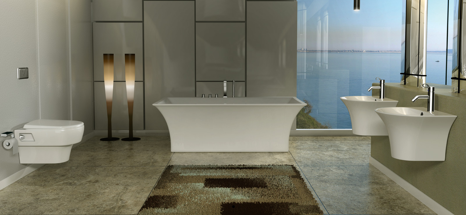 Transform your bathroom into a heaven of well being by for Bathroom designs hindware