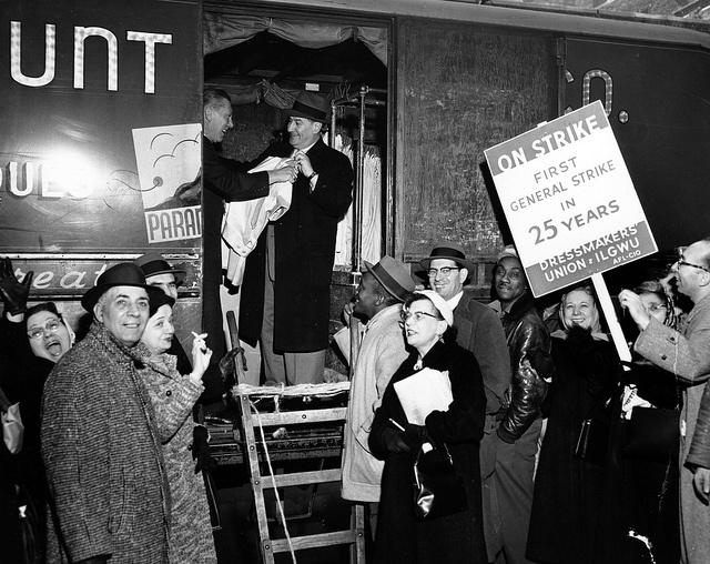 1958 Dressmaker's Union strike #LaborDay - Awards | Rethinking The