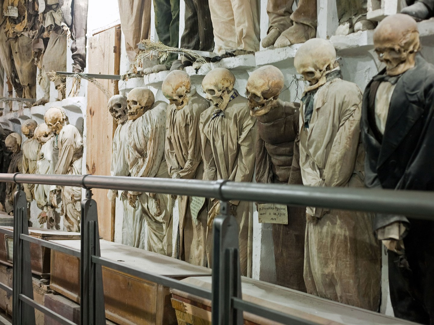 20 Architectural Scariest Places In The World - Capuchin Catacombs Palermo Sicily Italy