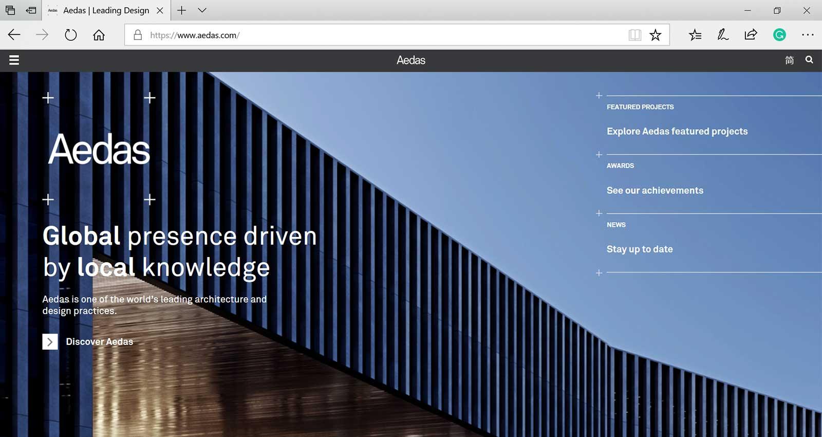 Top 15 Architecture Studio Websites of 2017 - Aedas
