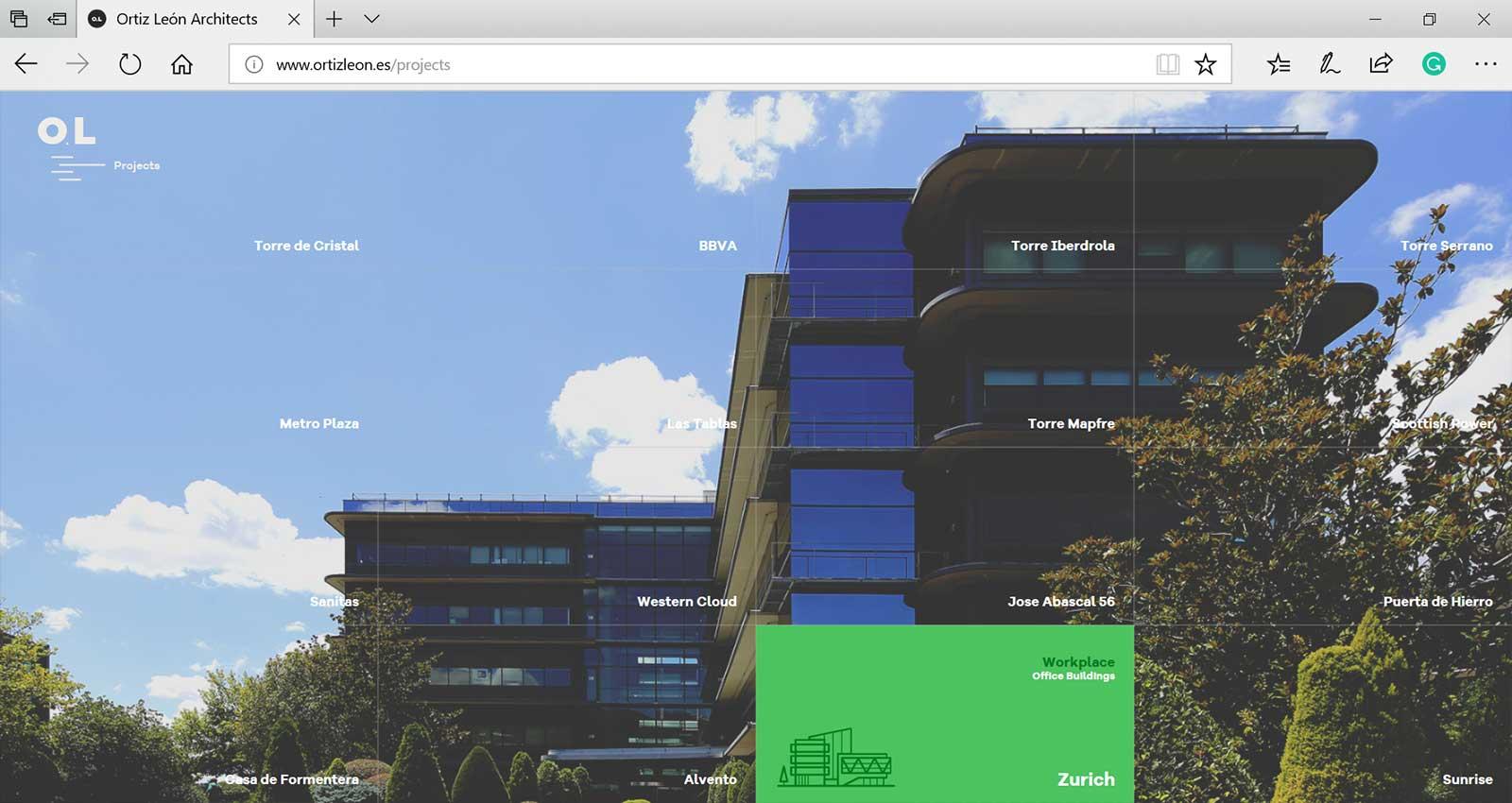 Top 15 Architecture Studio Websites of 2017 - Ortiz Leon Architects