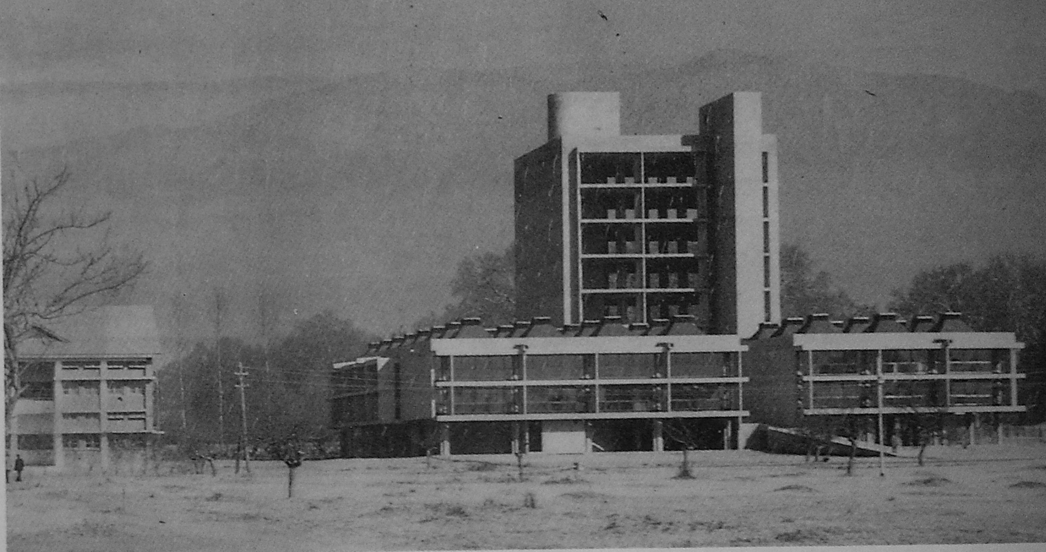 A journey of 100 years of Architecture in India   Part 02 - 1969-73-Central-Library