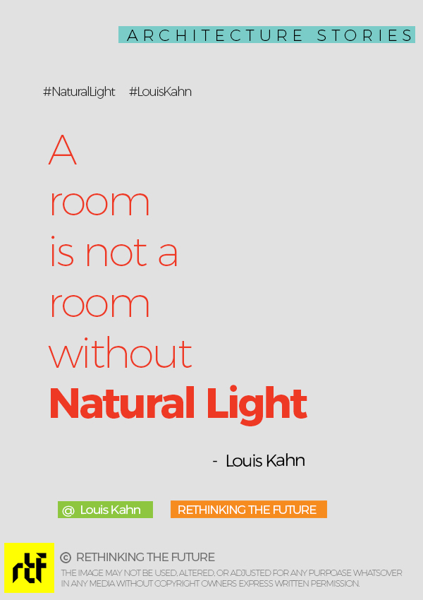 Natural Light-Louis Kahn
