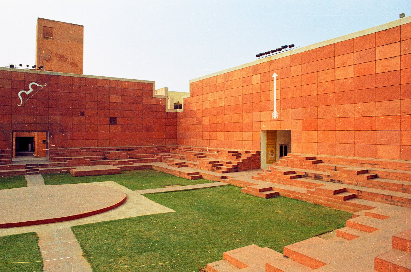 17 Offbeat Places in India Every Architect Must Visit - Jawahar Kala Kendra by Charles Correa