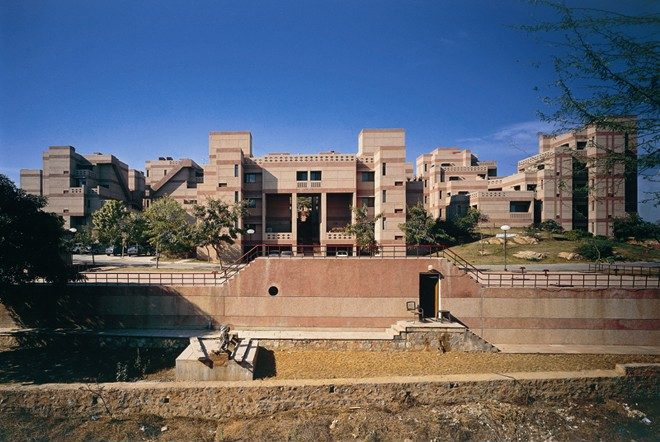 17 Offbeat Places in India Every Architect Must Visit - National Institute of Immunology, New Delhi by Raj Rewal