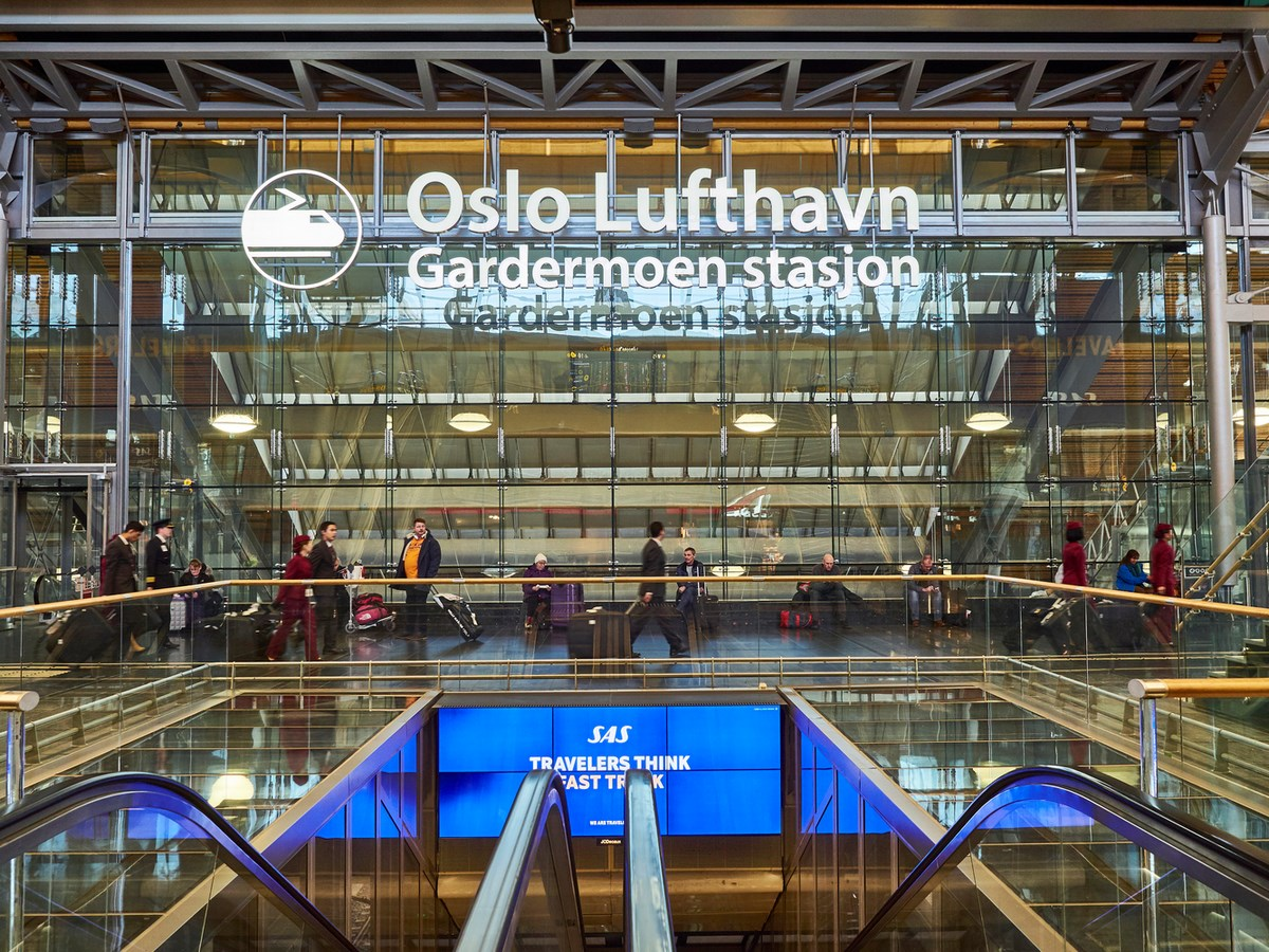 Best of 2017 - Transport Hubs Check out all the Projects here! - Oslo Airport Expansion by Nordic – Office of Architecture