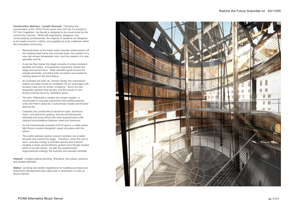 Punk music venue abandoned water tower markharris architects seen as a technological and industrial burden of disuse with the urban landscape the found object becomes both background and object ruined background solutioingenieria Image collections