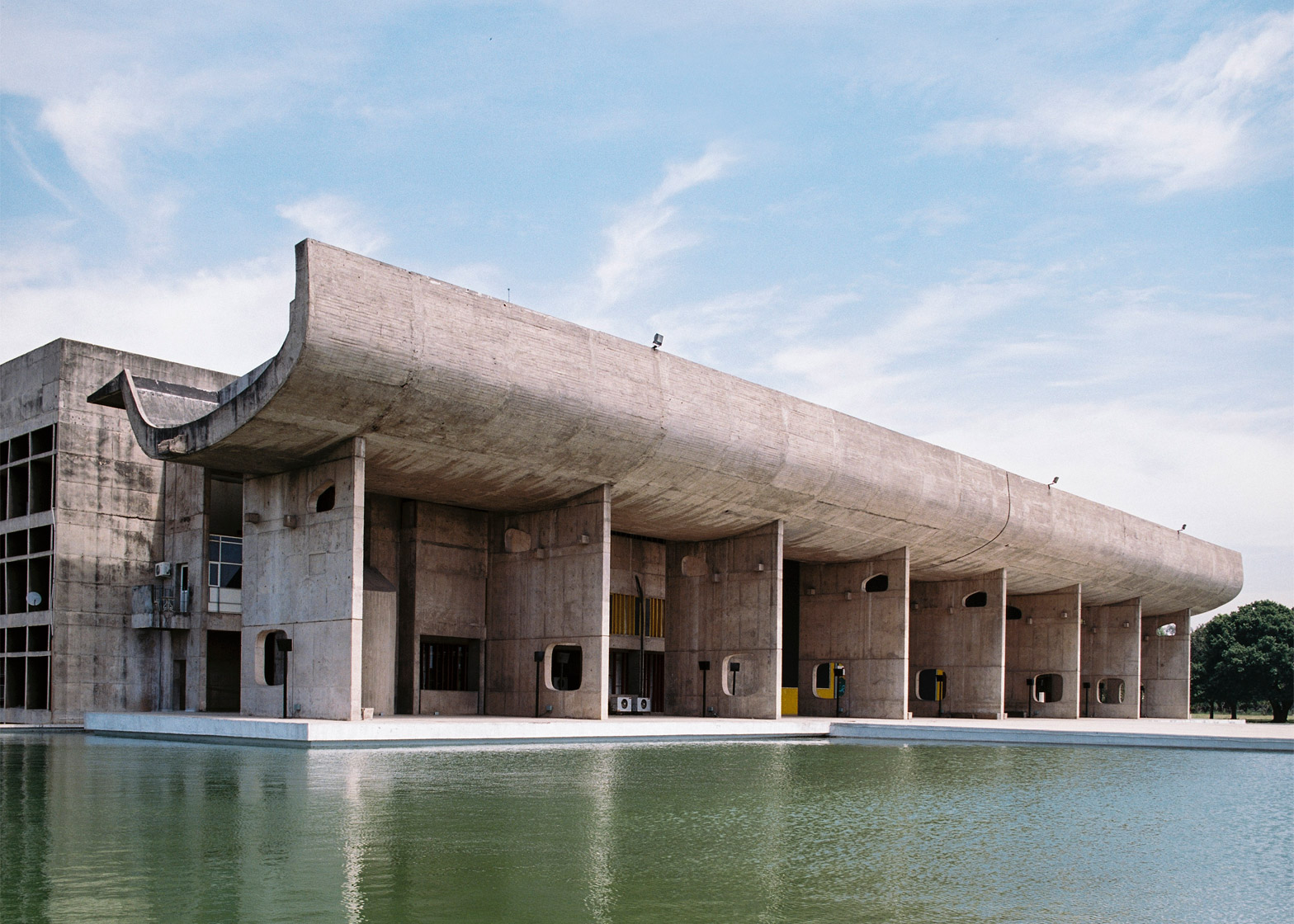 17 Offbeat Places in India Every Architect Must Visit - Capitol Complex Chandigarh by Le Corbusier