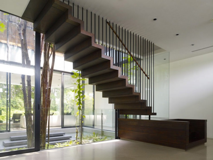 02 zig zag stairs - Stairs Design Ideas