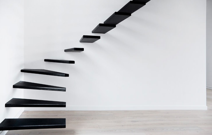 10 Amazing and Creative Staircase Design Ideas - Flat F.M.