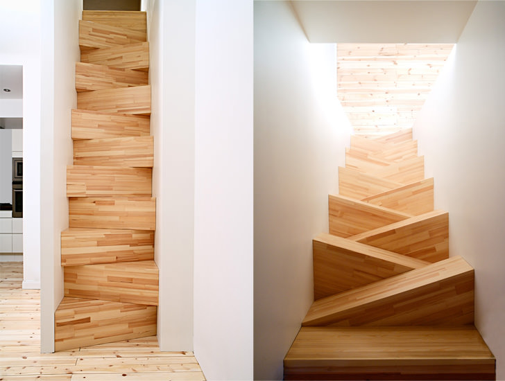 10 Amazing and Creative Staircase Design Ideas - TAF Stair