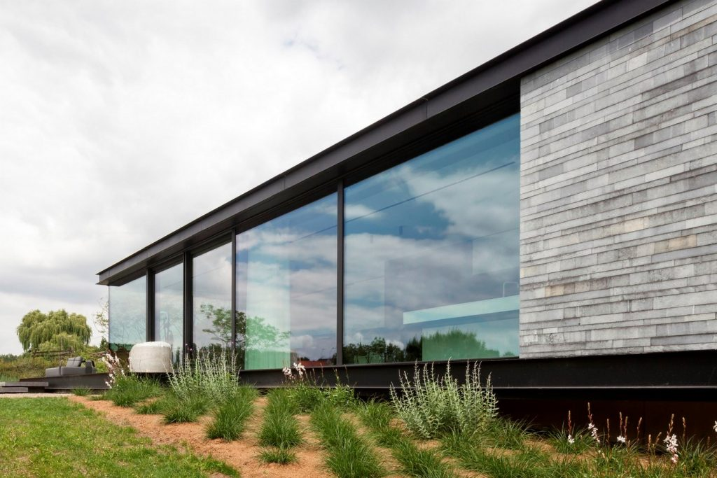 H shaped house with office sam architects rethinking for H shaped house
