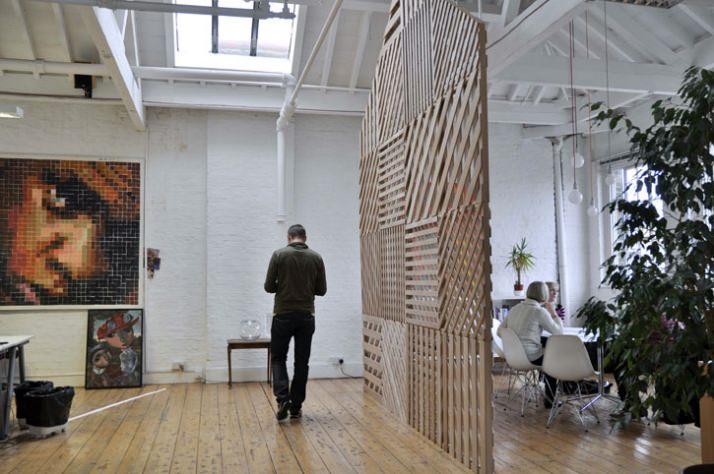 Creative Room Divider By Office Screen Partition Ideas - Meeting Space by Richard Shed studio1