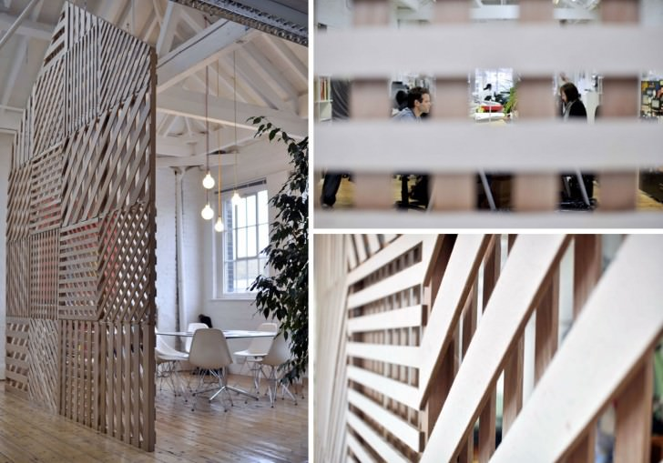 Creative Room Divider By Office Screen Partition Ideas - Meeting Space by Richard Shed studio2
