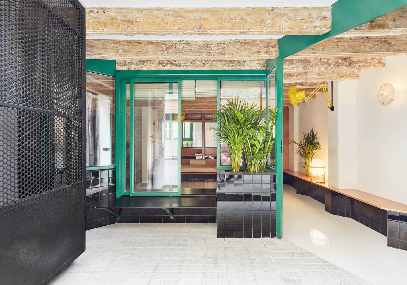10 Different Projects That Feature the Color Green! - Raval Hideaway / Sarriera-Weinstock