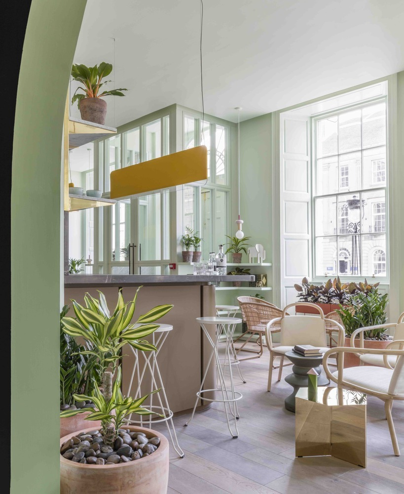 10 Different Projects That Feature the Color Green! - Eden Locke Edinburgh / Grzywinski+Pons