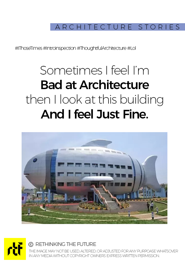 Can't believe it's actually built! Architecture Quotes