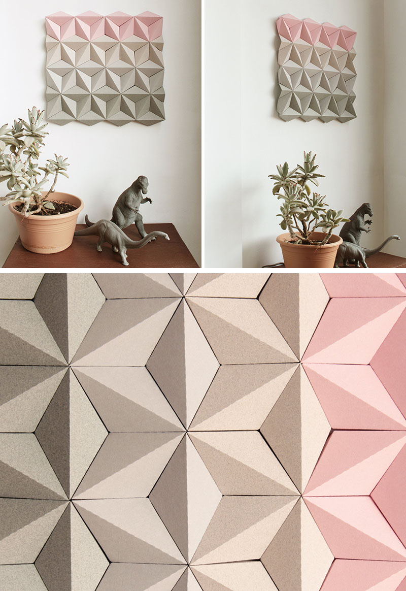 Kinga Kubowicz Has Created Moduuli, A Collection Of Geometric Origami Wall Art - Sheet3