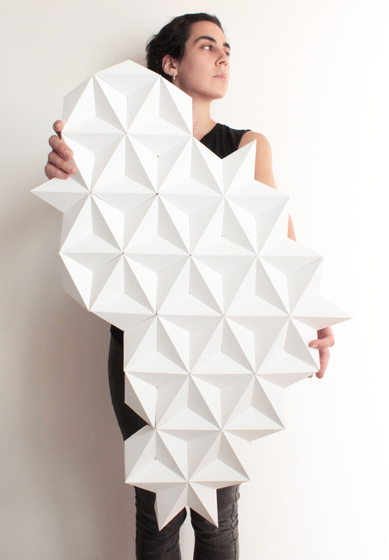 Kinga Kubowicz Has Created Moduuli, A Collection Of Geometric Origami Wall Art - Sheet2