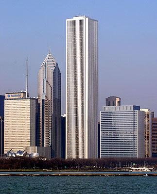 10 Breathtakingly Bad Architecture Ideas - Standard Oil Building (now Aon Center), Chicago, IL