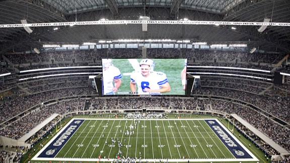 10 Breathtakingly Bad Architecture Ideas - The Cowboy Stadium scoreboard, Arlington, TX