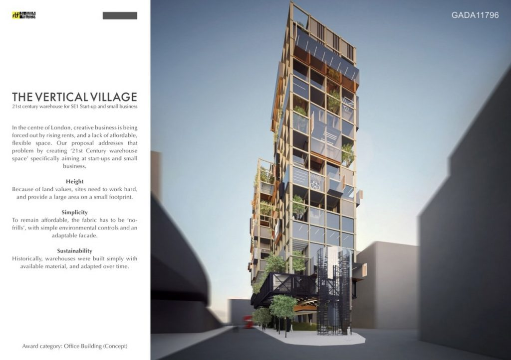 The Vertical Village | Cove Burgess Architects - RTF