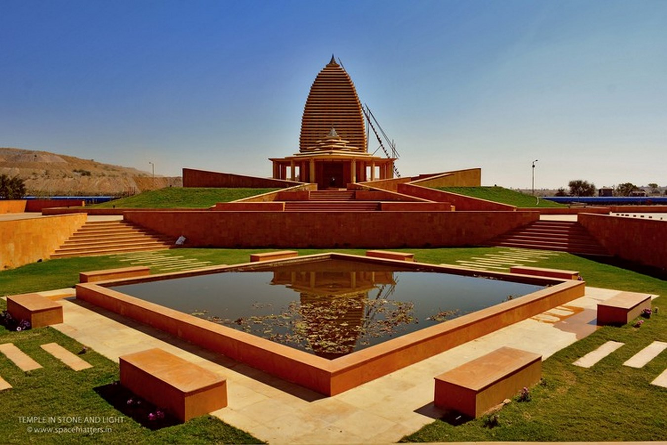 Barmer Temple, Barmer by SpaceMatters   Top Architects in India