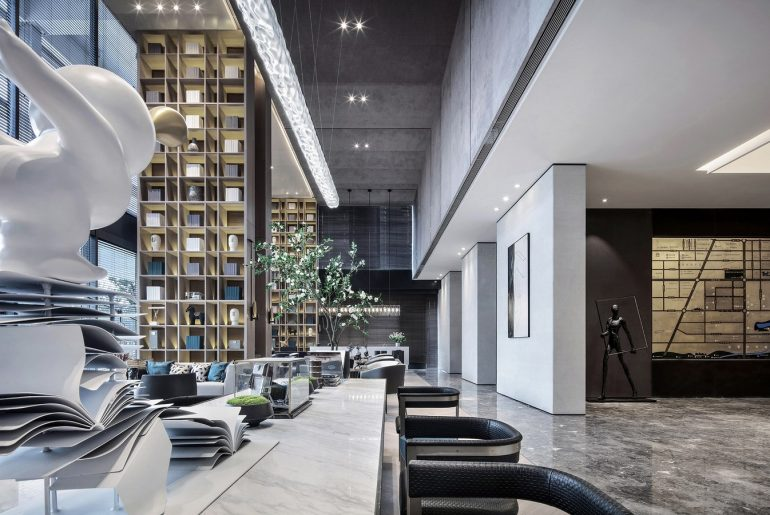 Xi'an Vanke • Ruyuan Sales Center By One-Cu Interior Design Lab - Sheet5
