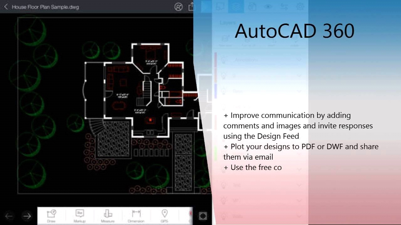 10 Architecture Apps To Try - AutoCAD 360 (iOS/Android)