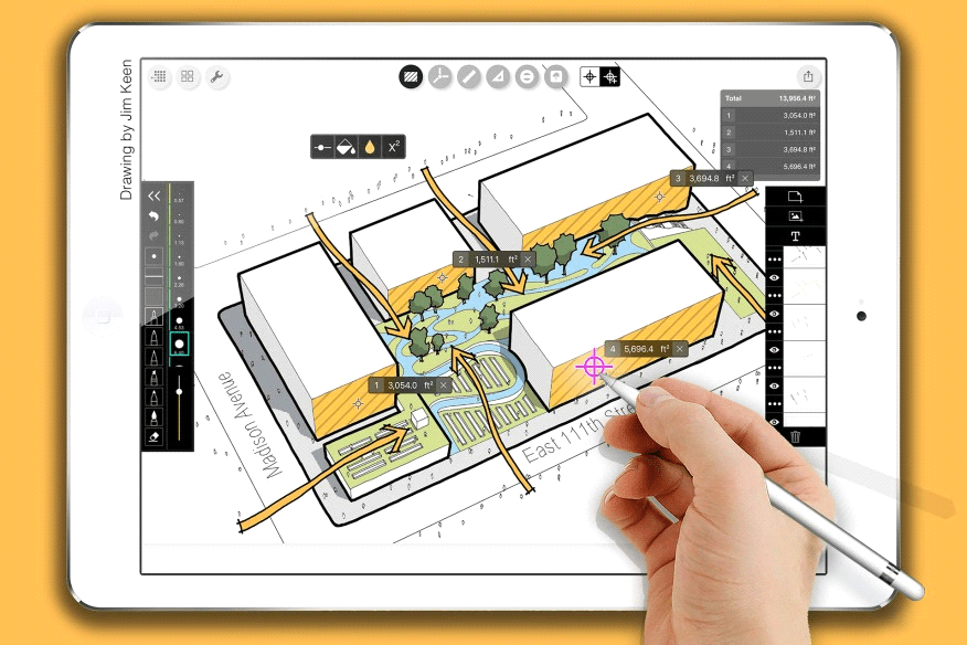 10 Architecture Apps To Try - Morpholio Trace (iOS)