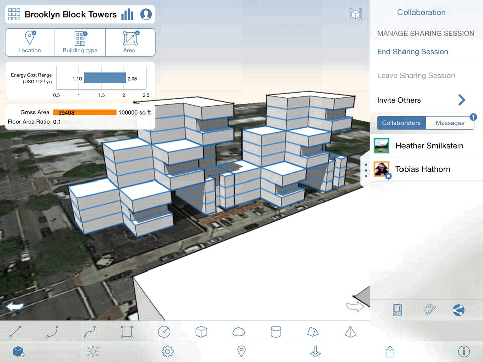 10 Architecture Apps To Try - Autodesk Formit (iOS/Android)