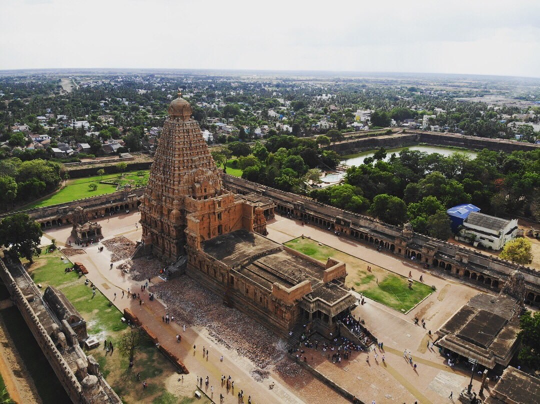 A Marvel of Dravidian Architecture: The Brihadeeswara Temple - Sheet1