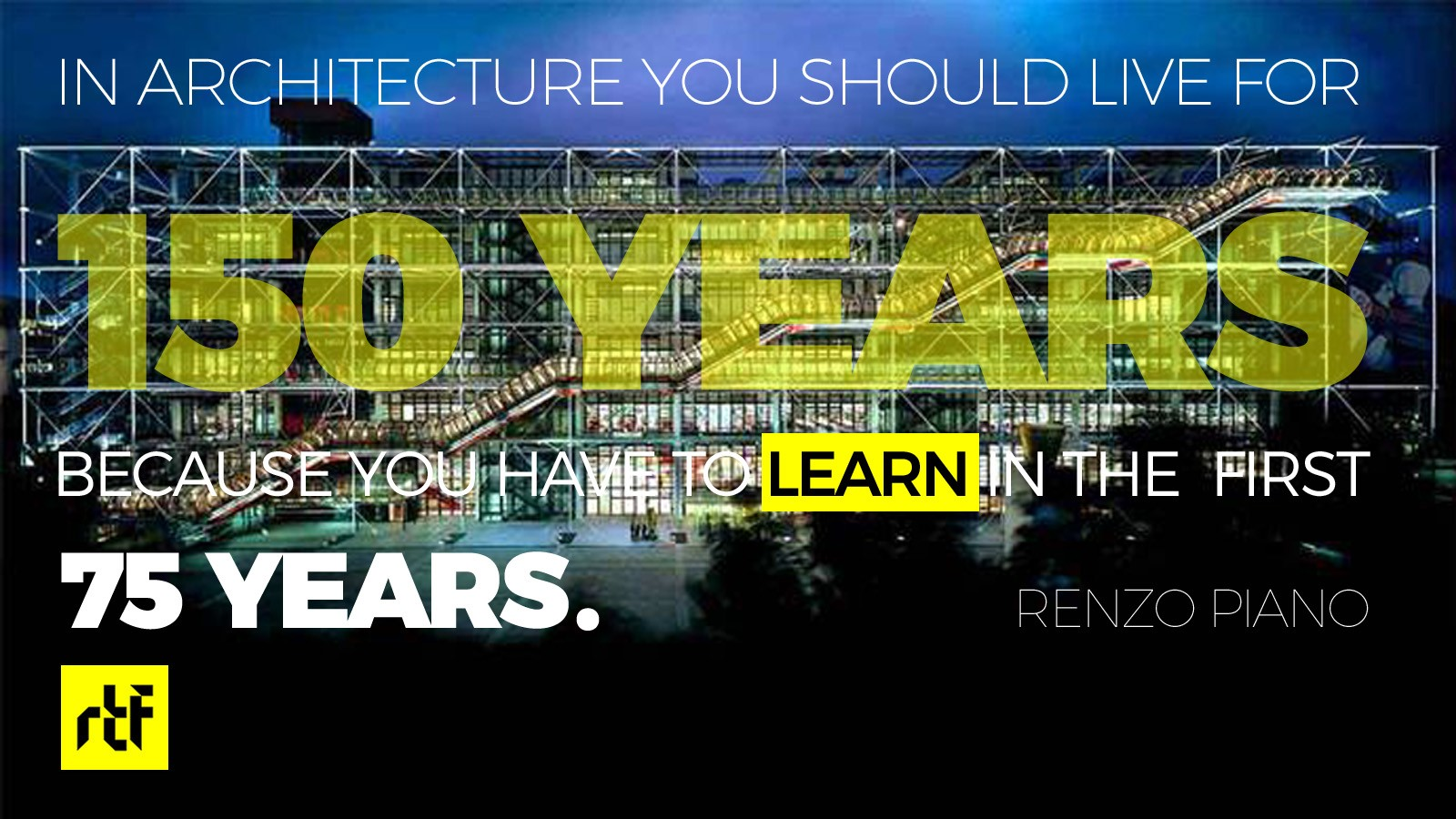 The 10 Keys to becoming a great Architect - Begin as early as possible