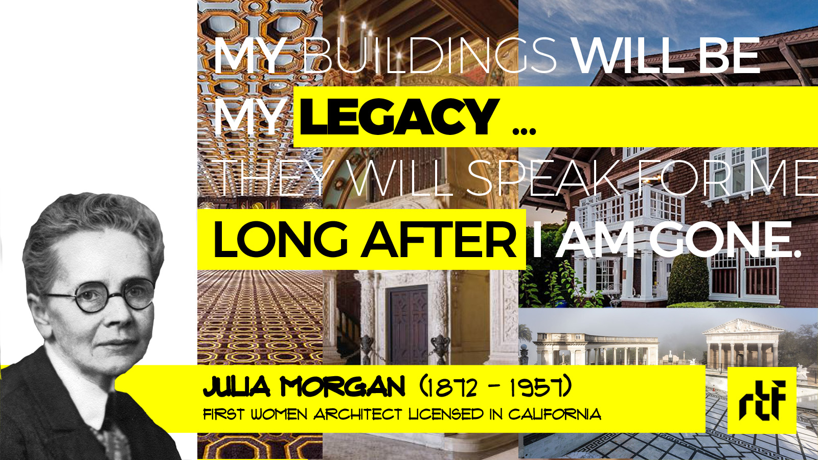 Julia Morgan: The First Female Architect to receive an AIA Gold Medal