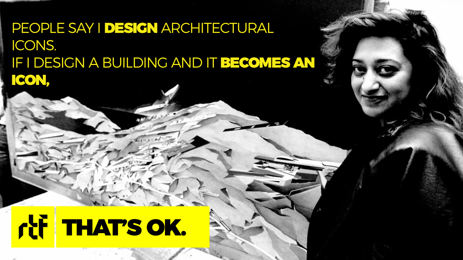 Zaha Hadid: The First Female Architect to win Pritzker Prize & RIBA Royal Gold Medal