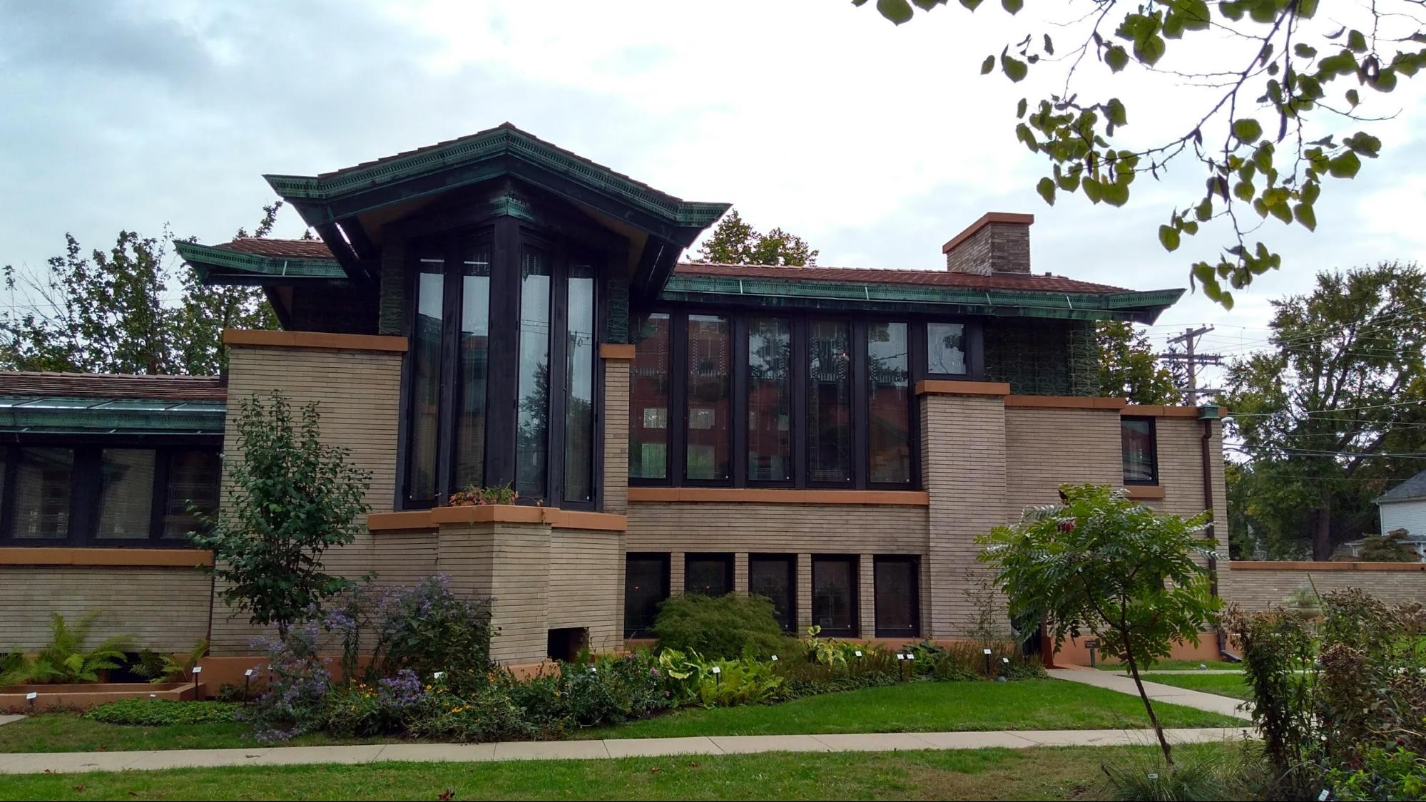 """Happy 152nd Birthday Frank! 50 projects by """"America's greatest Architect"""" (that you can visit) - Dana - Thomas House (1902)"""