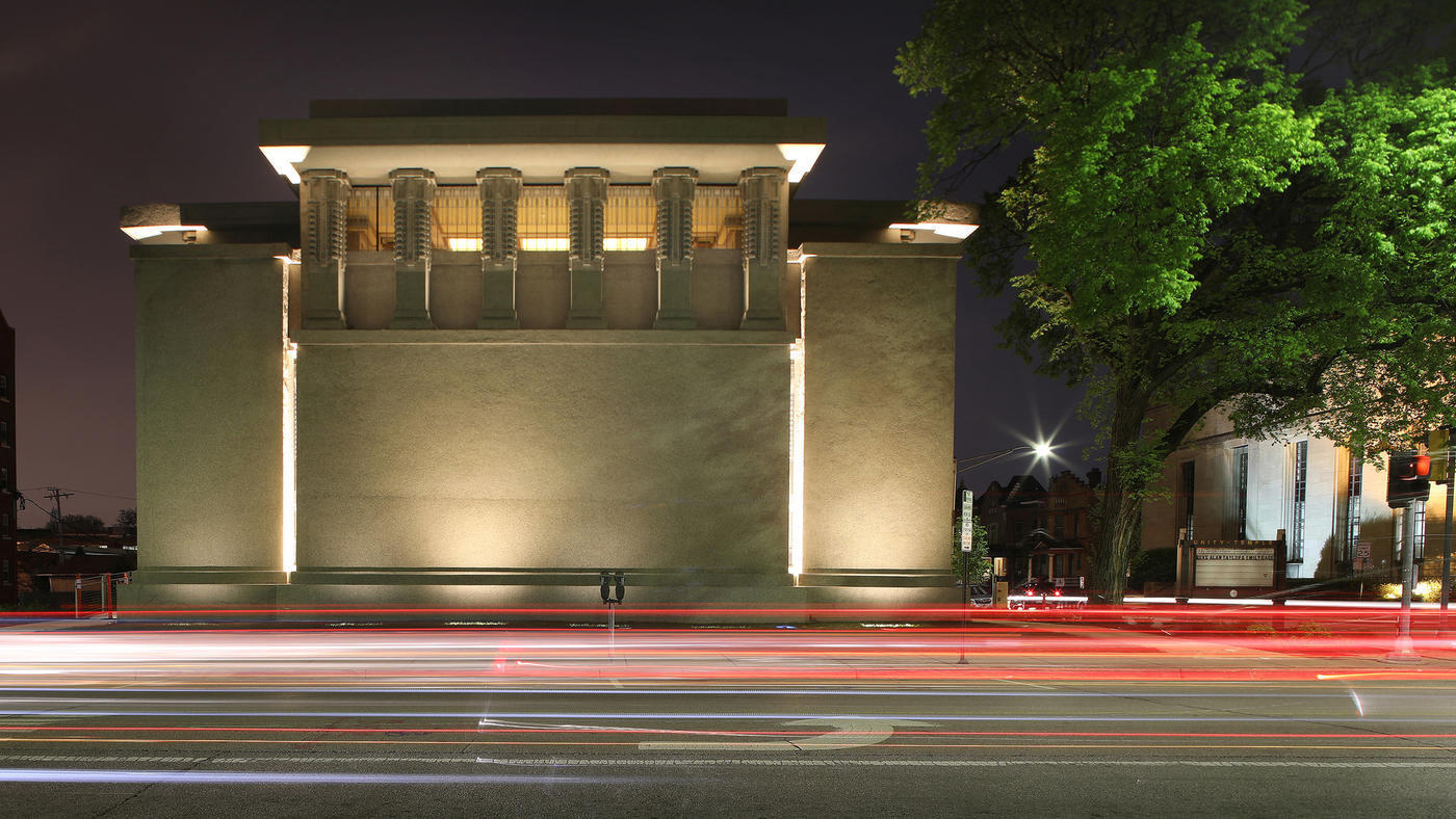"""Happy 152nd Birthday Frank! 50 projects by """"America's greatest Architect"""" (that you can visit) - Unity Temple (1904)"""