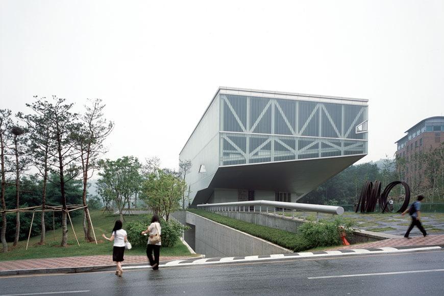 20 Works of Rem Koolhaas Every Architect should visit - Seoul National University Museum of Art, Korea
