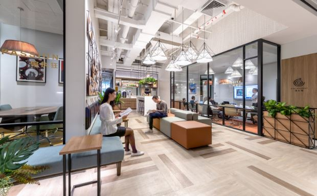 Office Interior by Space Matrix