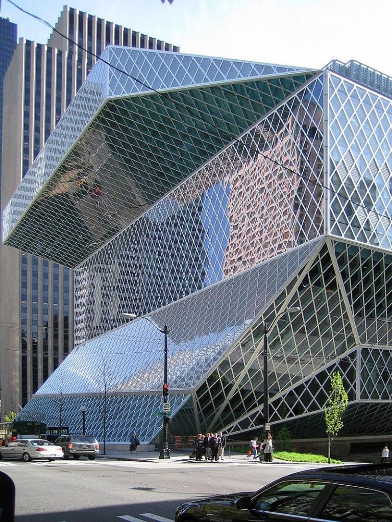 20 Works of Rem Koolhaas Every Architect should visit - Seattle Central Library
