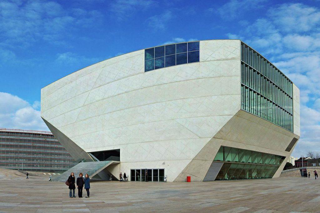 20 Works of Rem Koolhaas Every Architect should visit - Casa da Música, Portugal