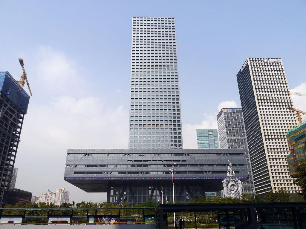 20 Works of Rem Koolhaas Every Architect should visit - Shenzhen Stock Exchange, China