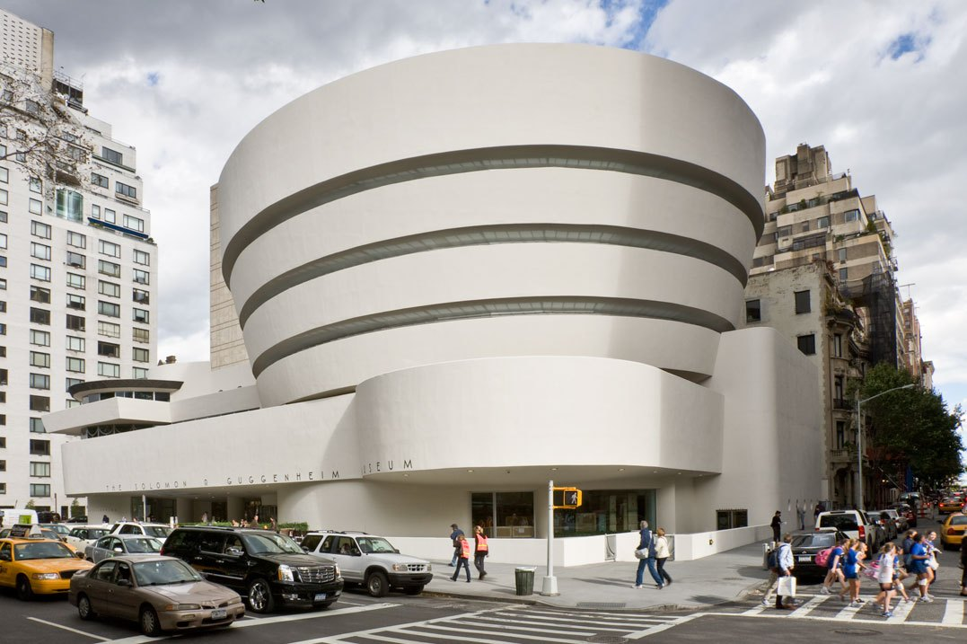 20 Buildings in Europe Every Architect must visit - Guggenheim Museum, New York, US