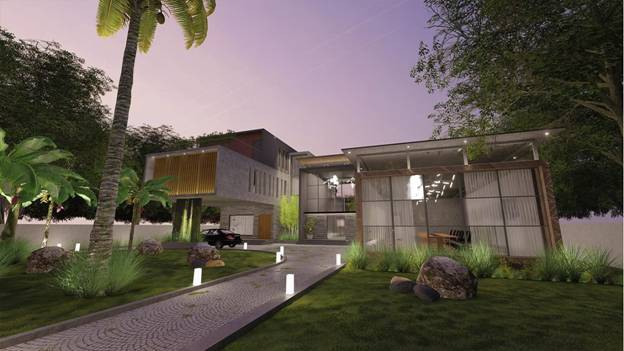 Famous Architects in Chennai - Spinco Farmhouse by BLD