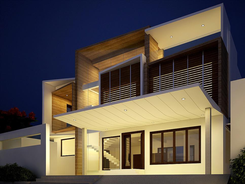 Residence by Sthapati